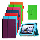 "Premium Slim Folio Leather Case w Stand Cover for Acer Iconia B1-720 7.0"" Tablet"