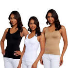 Women Body Shaper Genie Camisole ShapeWear Tank Top Slimming Bra Dint