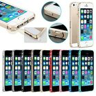 Luxury Ultra-thin Metal Aluminum Buckle bumper Frame Case For iPhone 5 5S Slim