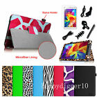 "Folio PU Leather Case Stand Cover for Samsung Galaxy Tab 4 8 8.0""SM-T330 +Bundle"