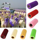 "1 Roll 6""X25 Yard TULLE FABRIC SPOOL ROLL BOWS WEDDING BRIDAL TUTU NETTING Hot"