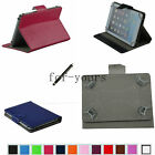Colorful Folio Claw Grip Case+Pen For 10.1 HANNSPREE SN1AT71WUE Android Tablet