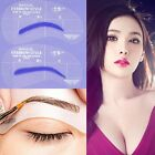 Eyebrow Grooming Stencil DIY Shaping Templates 24 Different Styles 4 Styles Set