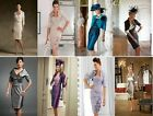 Fashion Knee-Length Suits&Outfits dress Mother Of The Bride gown free jacket/coa