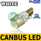 BRIGHT PARKING LIGHTS ICE WHITE FRONT SIDELIGHT 12V 501 W5W T10 CANBUS LED BULBS