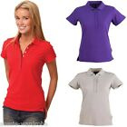 LADIES WOMENS CONNECTION SHORT SLEEVE DRESS CASUAL WORK POLO TSHIRT COMFY TOP