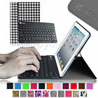 Slim Smart Shell Case Bluetooth Keyboard Stand Cover for iPad 4 Retina iPad 3&2