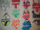 NEW JUSTICE TWO PIECE/BIKINI SWIMSUIT SIZE 6 7 8 10 12 14 16 CHOICE OF 16 DESIGN