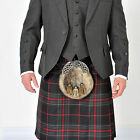 New Sprit Of Bruce Mod  5 YD wool Kilt Made in Scotland £229 offer £139 NOW £119