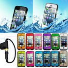 Shockproof Waterproof Proof Fingerprint ID Case For Apple Iphone 5 5G 5C 5S 4 4S