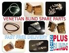 VENETIAN BLINDS SPARE PARTS LIFT CORDS  BRACKETS CLEATS AND LADDERS