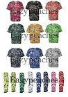 Badger B-Core Digital Camo Sport T-Shirt S-4XL, YOUTH, OR ARMSLEEVE wicking 180