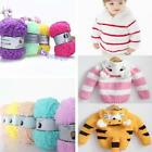 Baby Knitting Wool Craft Yarn Softy Chenille Craft Knit Towel Scarves Sweater CB