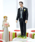 Funny Wedding Personalized Bride & Frog Prince Groom Couple Figurine Cake Topper