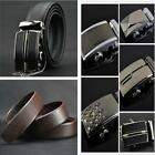 Chic Belt Automatic Buckle Belt Calf Leather Belt Auto-Buckle Business Man CB