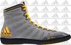 NEW Adidas 2014 Adizero Varner XIV Men's Wrestling Shoes, Gray/Solar Gold M18727
