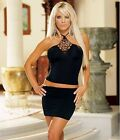 Dreamgirl Stunning Halter Top & Skirt Set. Parties. Nights Out (3811)