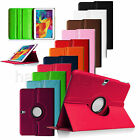 "Rotating PU Leather Case Cover for Samsung Galaxy Tab S 10.5"" SM-T800 Sleep/Wake"