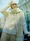 WOMEN'S KNITTING PATTERNS SWEATERS CARDIGANS HATS WRAPS COWLS TOPS DRESSES V31