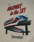 """NEW MENS DISNEY PARK MONORAIL """"YOUR HIGHWAY IN THE SKY"""" T SHIRT, Var Sz """"LAND"""""""