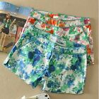 Women's Fashion Summer New All-match Floral Printing Casual Shorts Pants
