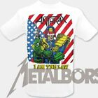 "Anthrax  ""I am the Law ( weiß ) "" T-Shirt 105689 #"