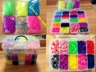 Wholesale 13500pcs Rainbow Colourful Rubber Loom Bands Bracelet DIY Making Kit
