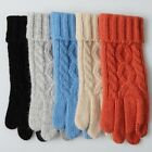 2015 ELMA Women's Wool Knitted Touchscreen Gloves Z028D