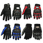 Full Finger Gloves Racing Motorcycle Motorbike Motocross Cycling Bike M L XL XXL