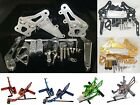 Adjustable Rearsets Footrest Footpeg Foot Pegs Fit 2006-2010 SUZUKI GSXR 600 750