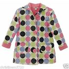 Girls Polka Dot Hartstrings Raincoat Age 4T 5-6 6x