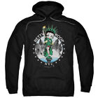 Betty Boop Cartoon Statue of Liberty NYC Skyline Adult Pull-Over Hoodie $47.95 USD on eBay
