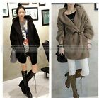 Warm Womens Outerwear Cardigan Long Sleeve Coats Hoodie Winter F6103 FUS