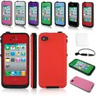 New Waterproof Shockproof Dirt Proof Durable Case Cover For iPhone 4 4S 5 5S