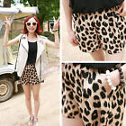 2014 Cool Girls Women's Leopard Print Casual Middle Waist Shorts Pants Sexy