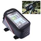 Bicycle Bike Mobile Phone Holder iPhone Frame Pouch Bag Case Carrier Cycle UK