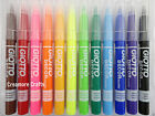 GIOTTO DECOR TEXTILE MARKER PENS - FABRIC CLOTHES T-SHIRT SHOES - PERMANENT INK