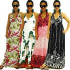 NWT XS/S/M/L NEW Womens Halter Party Summer Colorful Evening/Cocktail Maxi Dress