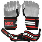 New MRX Weight Lifting Wrist Wraps Workout Training Grip Support Crossfit Straps