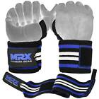 MRX Weight Lifting Wrist Wraps Gym Training Support Wrap Grip Crossfit Straps