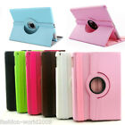360 Rotating Folio Stand Smart Leather Case Cove For ipad Mini Smart 2/3/4 Air 5