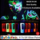 1X UV Glow Neon Face Body Paint 10ml Black light Fluoro Party Glow in the dark