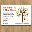 Personalised Change of Address New Home House Moving Cards + Envelopes No2