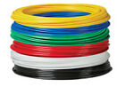 METRIC & IMPERIAL Flexible Nylon Tube Hose Pneumatic Air Line Tubing 1m 30m 100m