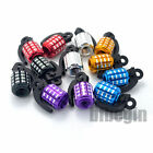 2x Grenade Alloy Valve Caps Dust Covers Bike Bicycle MTB BMX Car Tyre Schrader