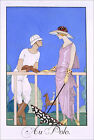 Poster / Leinwandbild At Polo, 1920-29 - Georges Barbier