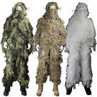 CAMO GHILLIE SUIT *Woodland/Desert/Winter* Sniper Army Camouflage Hunting Jacket