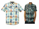 Mens Duck and Cover Turner Short Sleeve Check Shirt