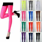 Sexy Neon Candy shiny Bright Fluorescent Glow Stretch Tights Leggings Pants