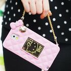 Authentic Hello Kitty Mirror Bag Silicon Case iPhone 5 Case iPhone 5S/ 5C case